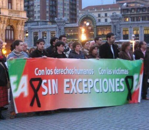 Eusko Alkartasuna con las víctimas, sin excepciones