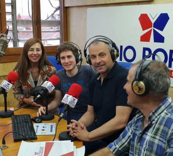Ander Aldekoa en Radio Popular Irratia
